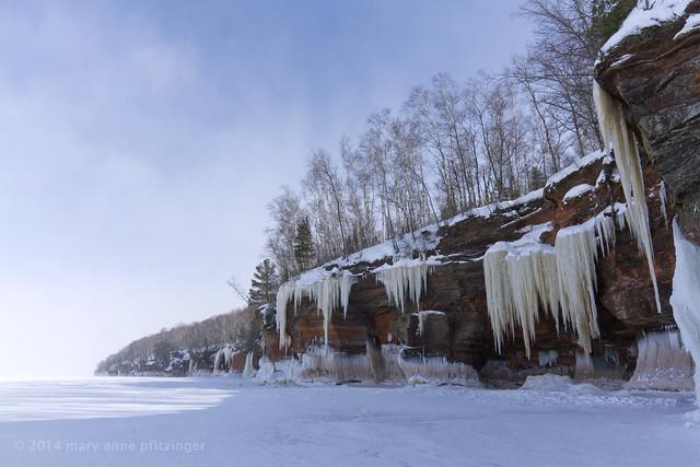 Frozen Superior Shoreline