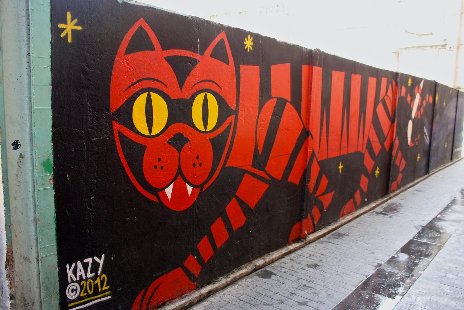 Street art, Zaragoza, Spain