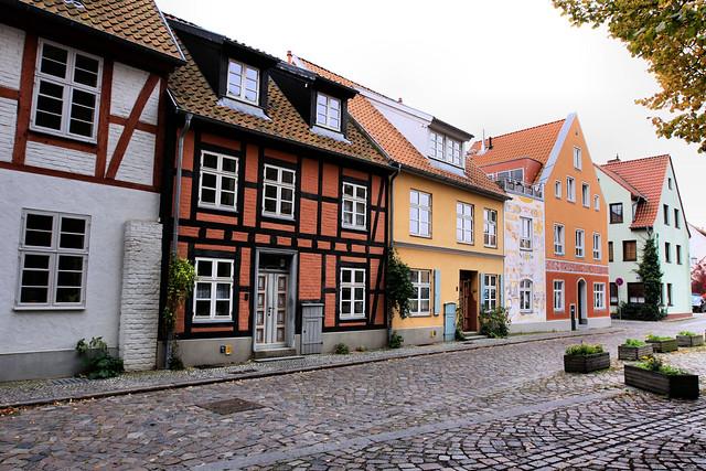 Papenstraße - Fachwerkhäuser - Stralsund