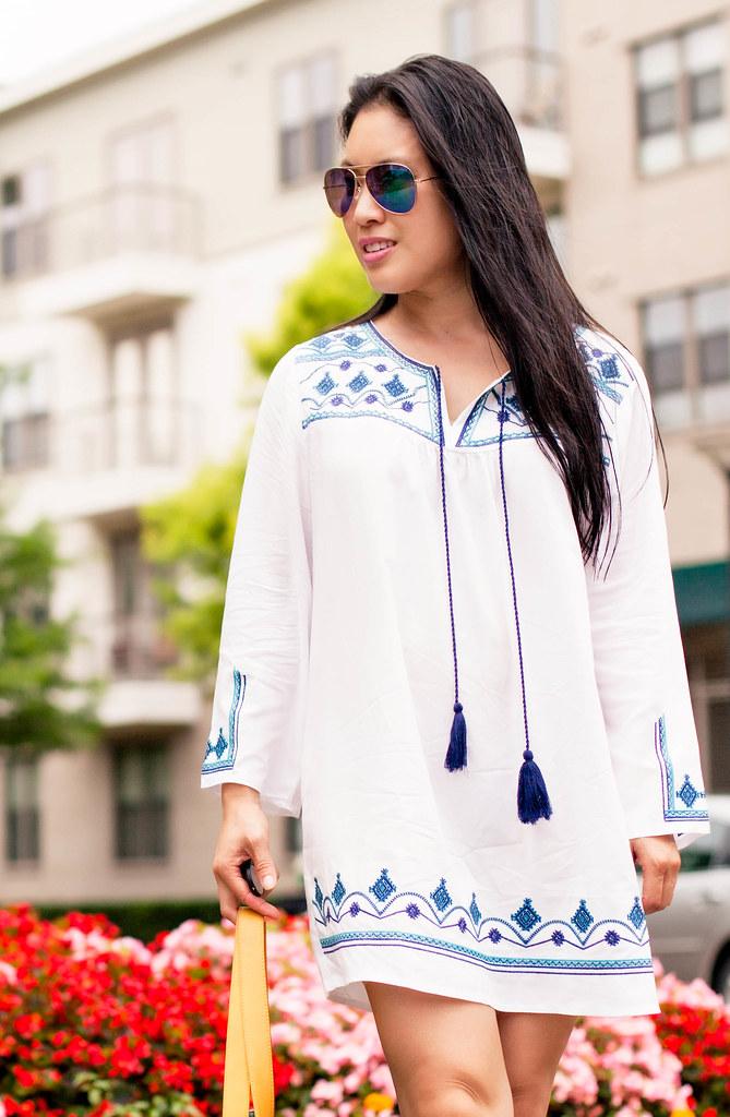 e6a1c0ec91 ... cute & little blog   petite fashion   embroidered beach cover up tassel  dress   summer