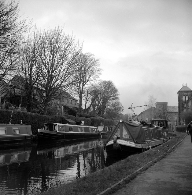 SKIPTON Station and canal