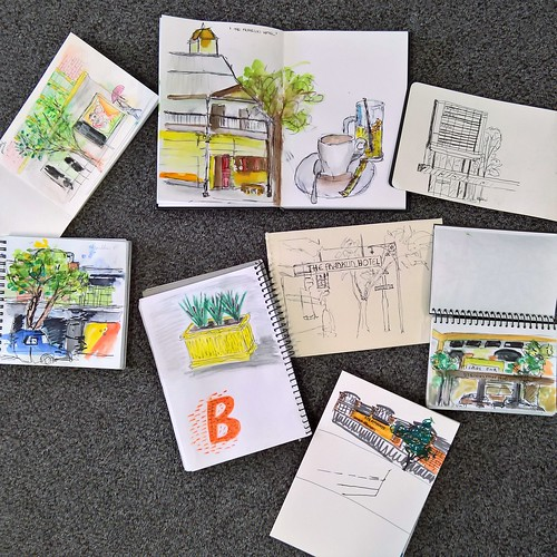Expressive Travel Sketching Workshop - Adelaide | by Shai Coggins