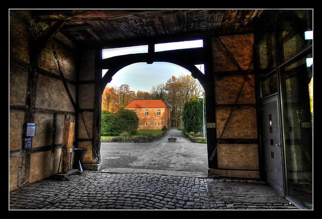 Haltern am See - Schloss Sythen Torhaus 01
