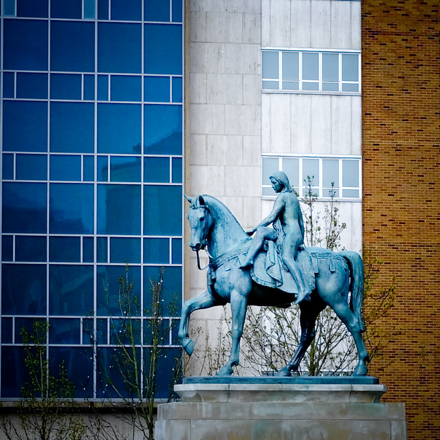 Lady Godiva statue Coventry (Sir William Ried-Dick 1949)