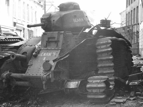 雷诺B1坦克