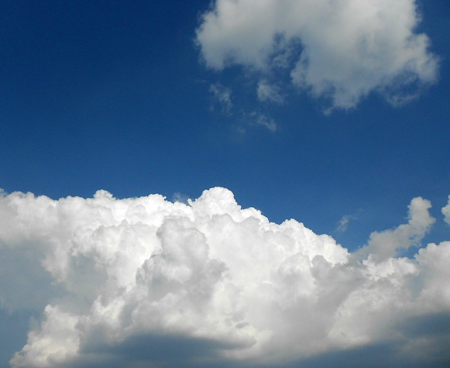fluffy puffy clouds