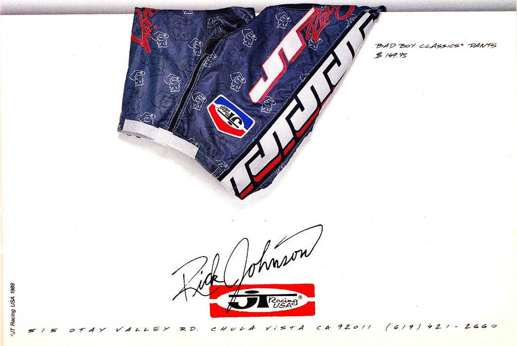 JT Racing Bad Boy Gear 1989   Tony Blazier   Flickr