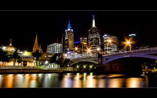 City Lights & Blurred Reflections | by keks.au