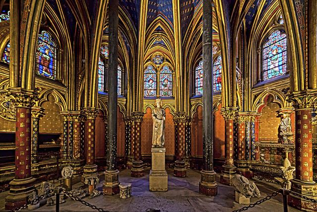 Sainte chapelle, le bas