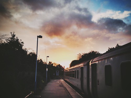 sky station train sunrise railway uploaded:by=flickrmobile brooklynfilter flickriosapp:filter=brooklyn sudburyrailwaystationsuy