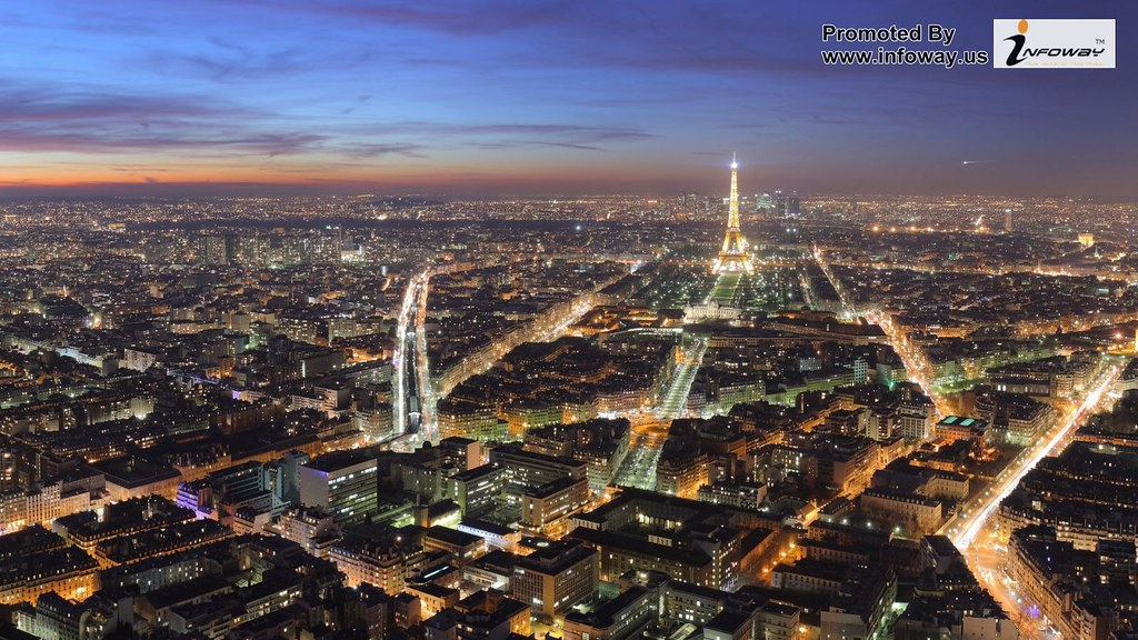 Paris At Night Hd City Wallpaper Paris At Night Hd City Wa