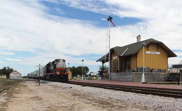 Depot at Bertram Texas