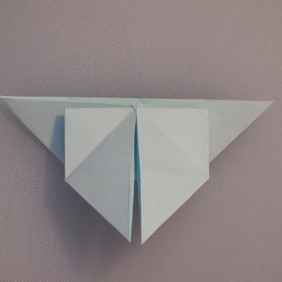 วิธีพับกระดาษเป็นรูปผีเสื้อ 013