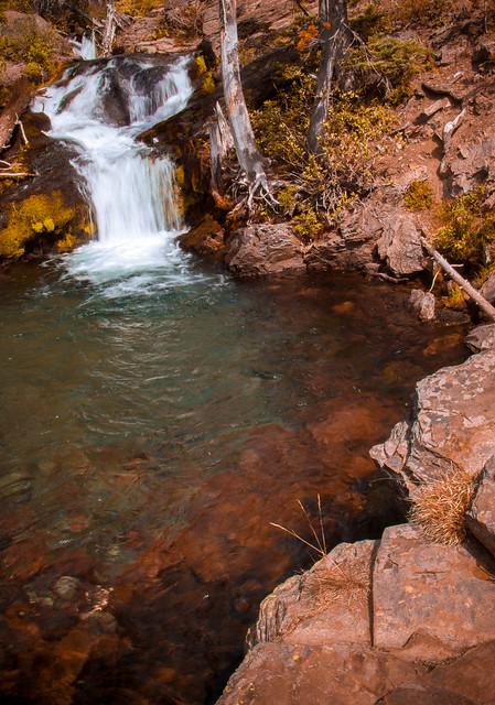 Waterfall - Yakama Nation Wilderness Area, Washington