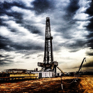 Drilling Rig, Halfaya Oilfield, Iraq | by Earth & Marine Environmental Consultants (EAME)