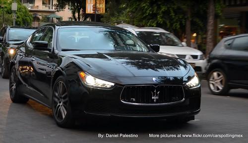 Maserati Ghibli en México DF | by Daniel Palestino