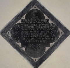 Charles Vesey Gent, whoe tooke to wife Elizabeth