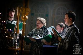 Литургия в Софийском соборе 320