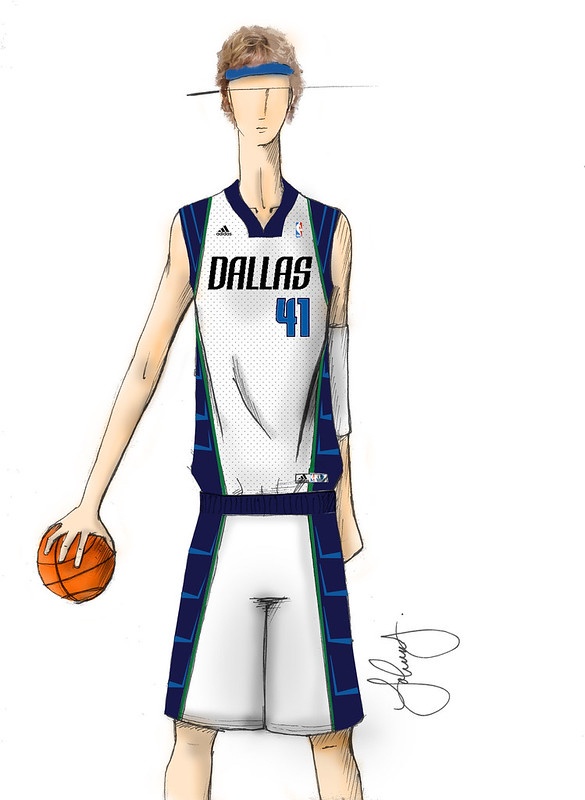 MAVERICKS UNIFORM ILLUSTRATION