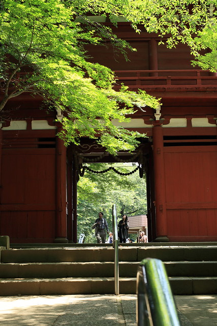 temple gate 本土寺