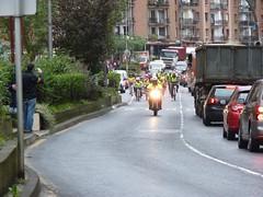 En la imagen se puede ver uno de las primeras actividades en las que se ha usado la bicicleta eléctrica