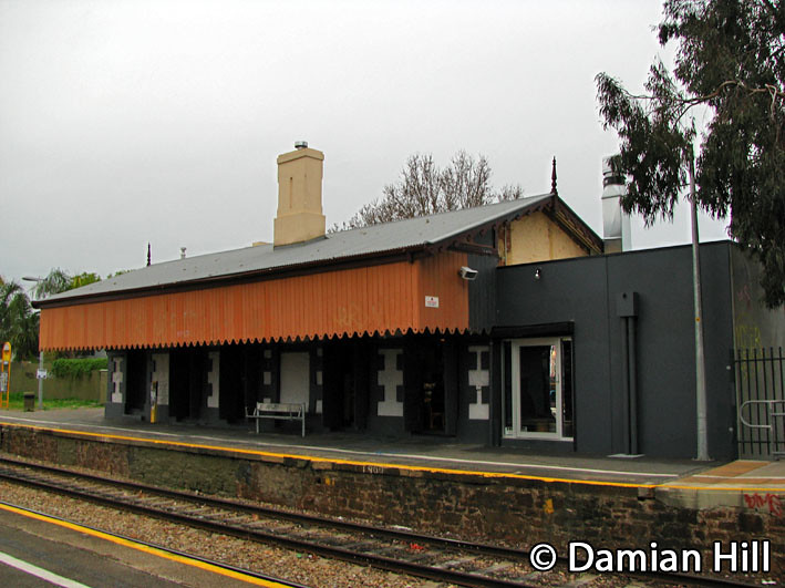 Bowden Railway Station / The Loose Cabose Cafe by baytram366
