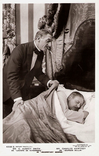 C. Aubrey Smith and Charles Hawtrey in Inconstant George
