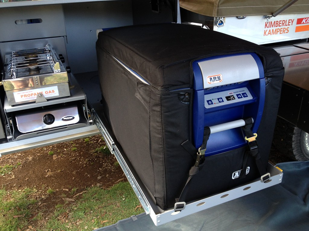 ARB fridge with cover