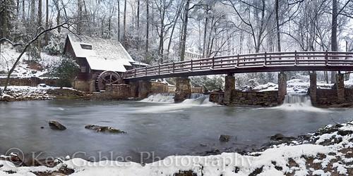 oldmill winterscene shadescreek mountainbrookalabama scenicmill