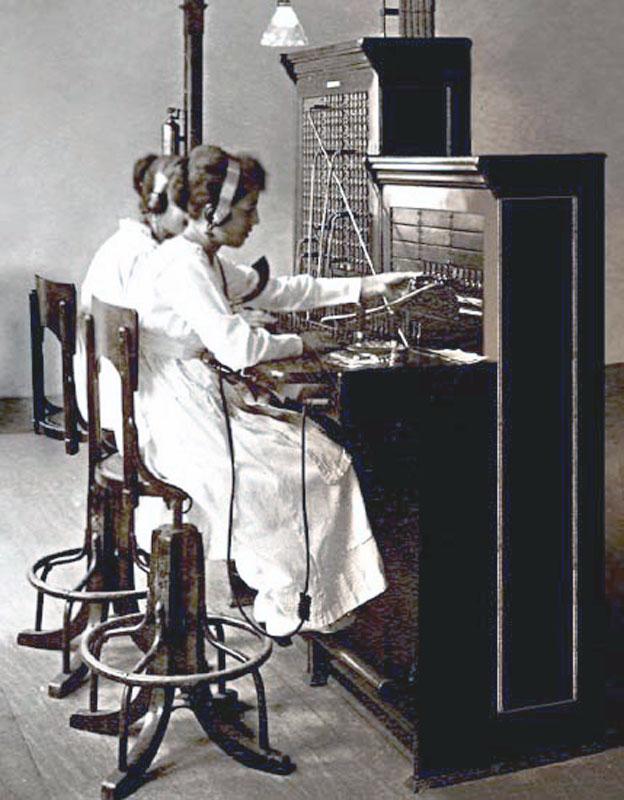 telefonistas antigas