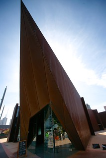 ACCA pointy cafe, Melbourne | by Joe Lewit
