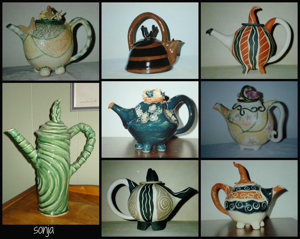 my teapots handbuilt