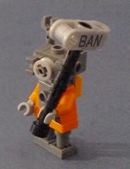 Ban-hammer Monstros Eddie by gambort