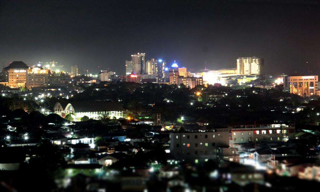 Balikpapan City At Night Balikpapan City At Night From Th Flickr