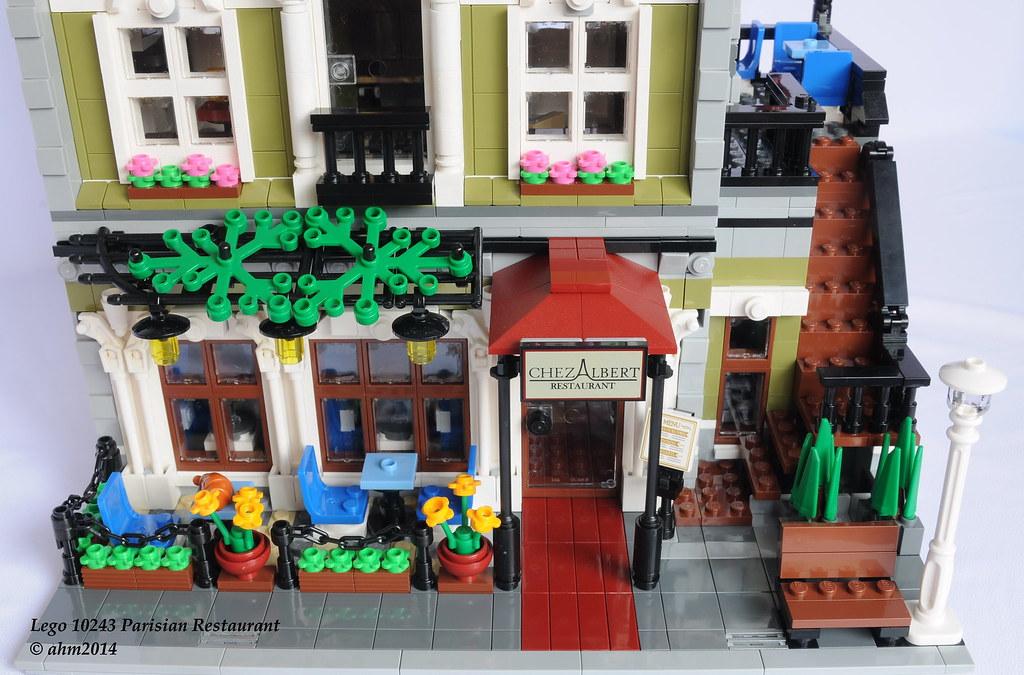 parisian restaurant lego