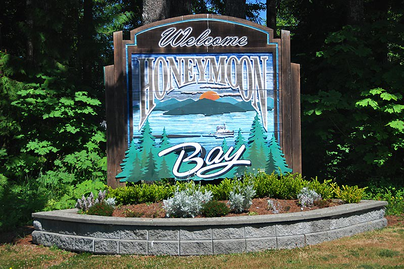 Honeymoon Bay, Cowichan Lake, Cowichan Valley, Vancouver Island, British Columbia, Canada