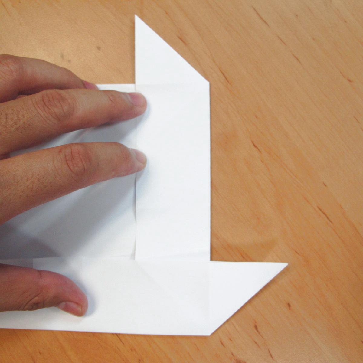 สอนการพับกระดาษเป็นที่ใส่ของรูปกลีบกุหลาบ (Rose box origami) 029