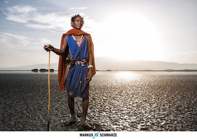 Portrait of Maasai-Warrior