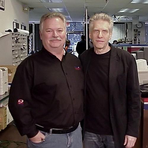 David Cronenberg With Phil Konstantin