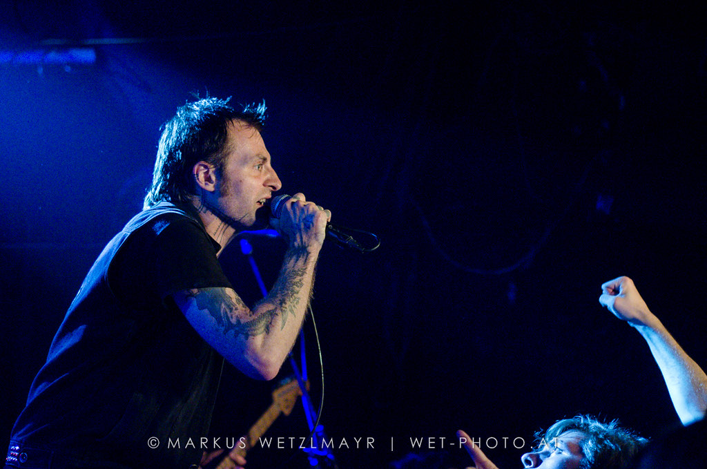 """US Crust Punk / Ska band LEFTÖVER CRACK performing live as main act at Viper Room, Vienna, Austria on July 23, 2013.  NO USE WITHOUT PRIOR WRITTEN PERMISSION.  © Markus Wetzlmayr 