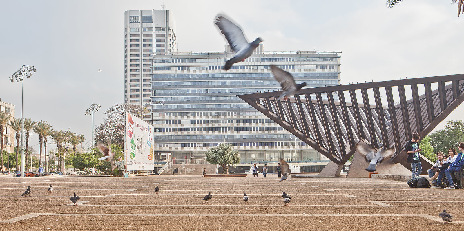 Tel Aviv_Rabin sq_ 1_Dana Friedlander_IMOT