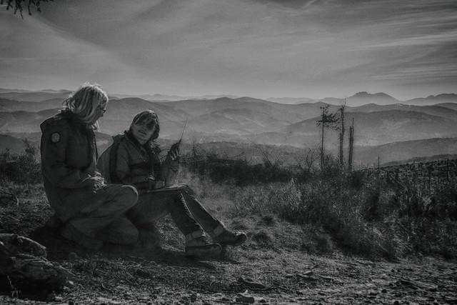 Wojtek SQ9PBS i Agata SQ9PBT na Baraniej Górze