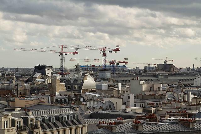 Toits de Paris, grue, beaubourg, les halles [04012014-IMG_8717]