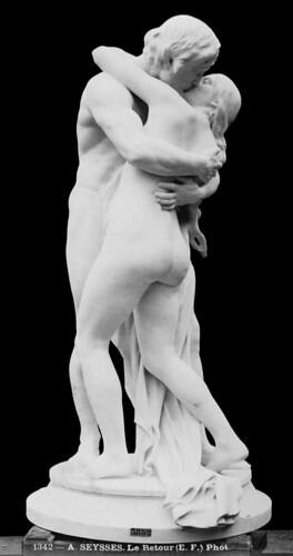 Auguste Seysses (1862-1946) - Le Retour (1900) | by ketrin1407