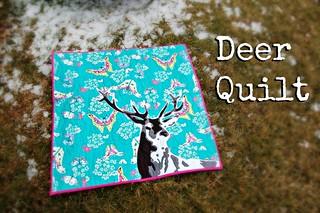 Deer Quilt Title   by Sarah.WV