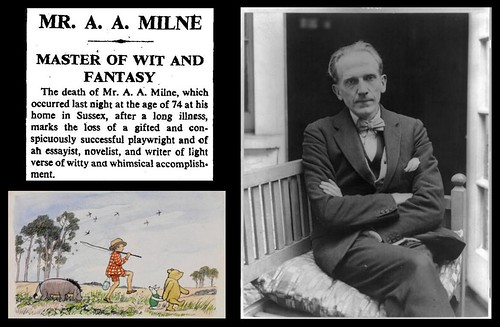 31st January 1956 - Death of A. A. Milne | by Bradford Timeline