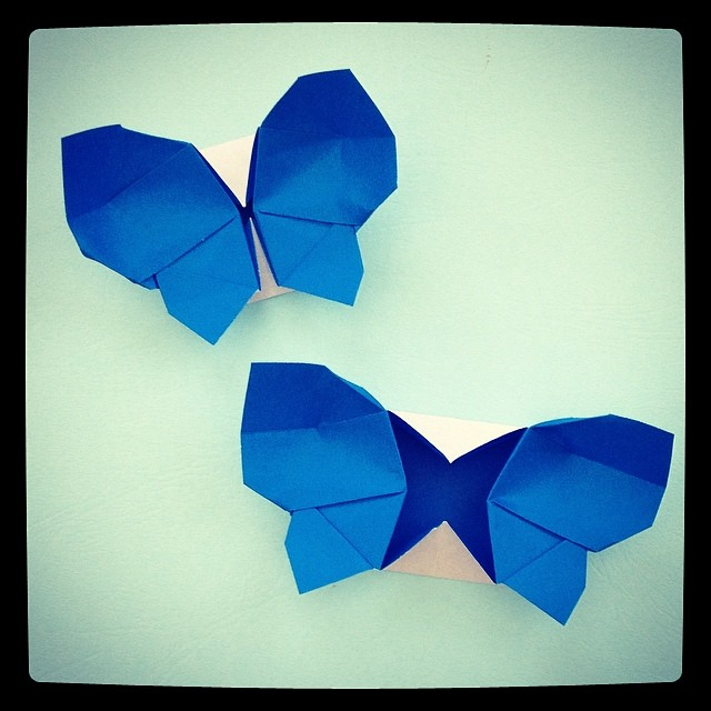 Easy Paper Butterfly Origami - Cute & Easy Butterfly. Origami ...   640x640