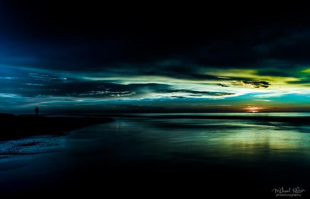 Tutong Beach Sunset