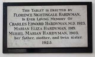 Florence Nightingale Hardyman