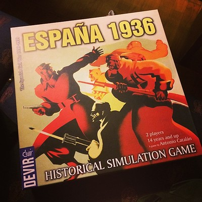 Best Civil War Board Games España 1936